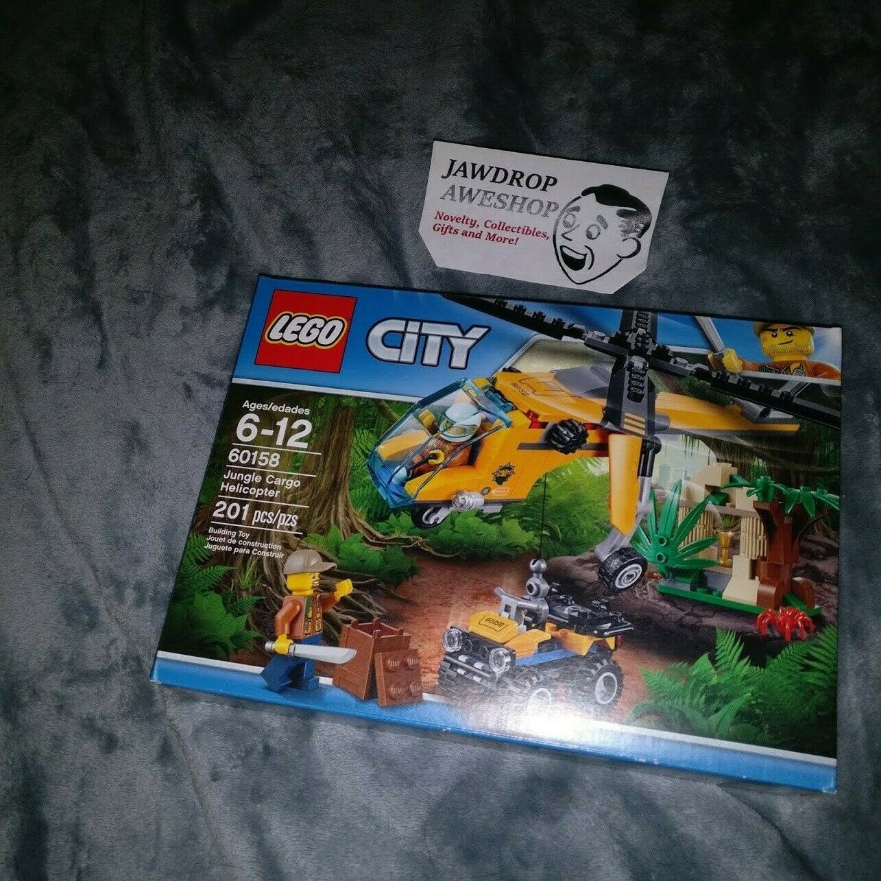NEW [60158] LEGO CITY JUNGLE CARGO HELICOPTER GIFT SET FACTORY SEALED BRAND NEW