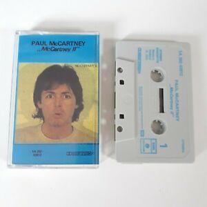 PAUL-McCARTNEY-II-CASSETTE-TAPE-THE-BEATLES-EMI-PARLOPHONE-HOLLAND-1980