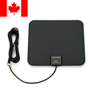 Super-Thin-Indoor-Digital-HD-TV-HDTV-Antenna-FM-VHF-UHF-FREE-TV-Signals-50-Miles