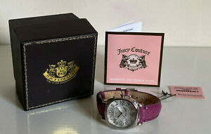 JUICY-COUTURE-SWAROVSKI-CRYSTALS-PURPLE-SNAKE-EMBOSSED-LEATHER-STRAP-WATCH-195