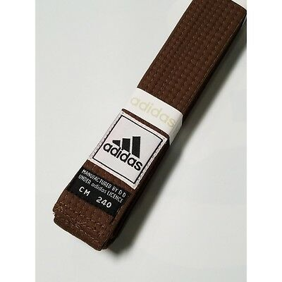 New adidas Taekwondo Karate Belt Martial Arts Judo Jiu-Jitsu Belt Cotton-BLUE