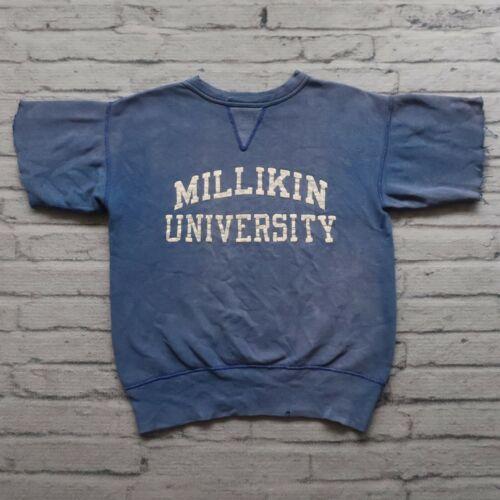 Vintage 60s Wilson Sporting Goods Single V Sweatsh