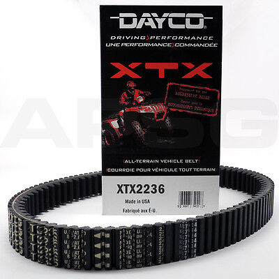 HPX High-Performance Extreme ATV Belt For 2012 Can-Am Commander 1000 XT~Dayco