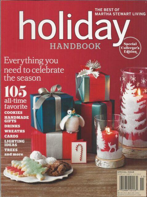 The Best Of Martha Stewart Halloween Handbook Magazine Collectors Ed 2012 B108