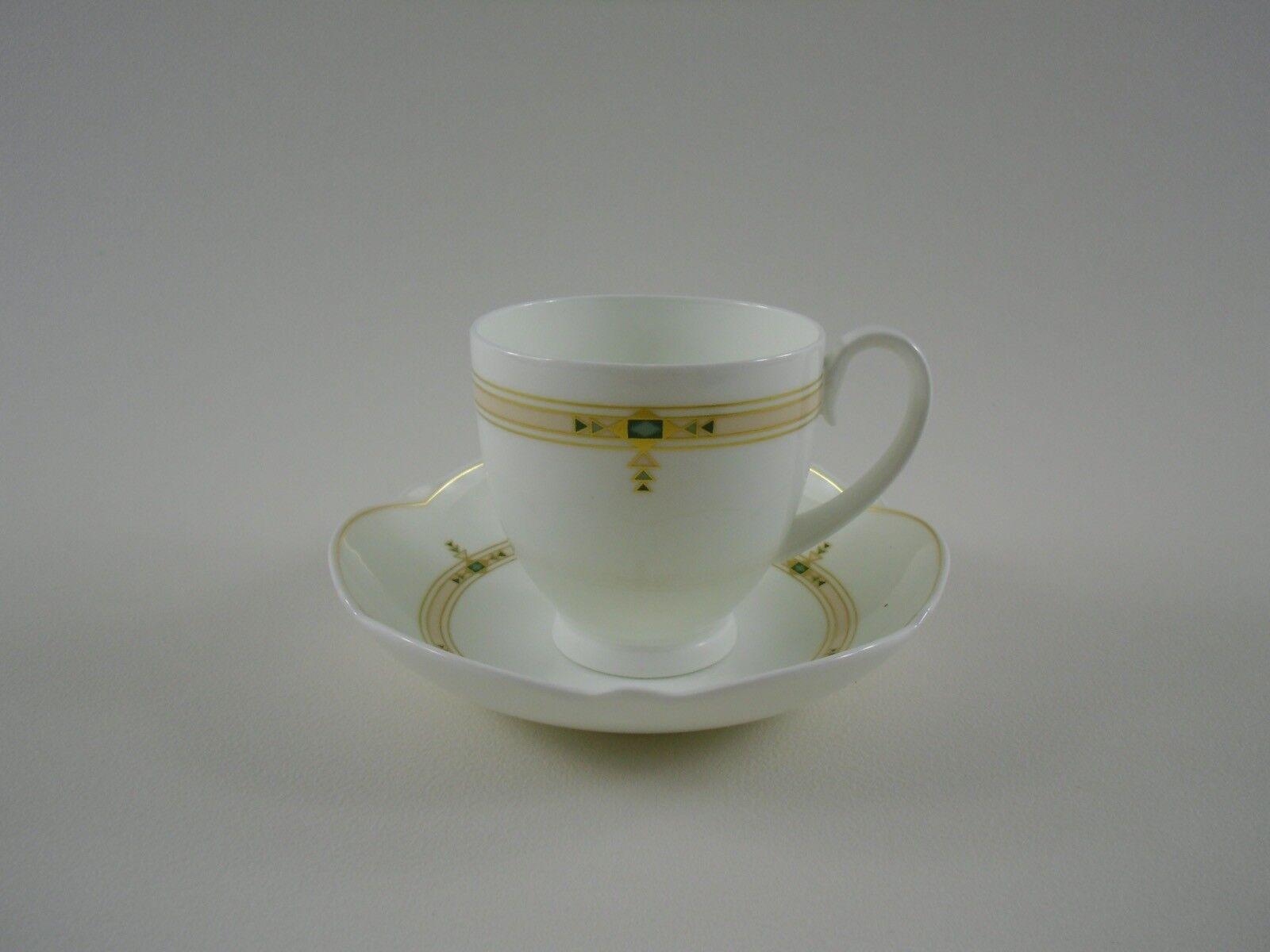 Villeroy & Boch PALOMA PICASSO Montserrat Kaffeetasse Tasse Untertasse