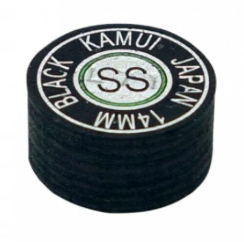 Billiards KAMUI NEW BLACK Tip SS Super Soft Japan Free Shipping