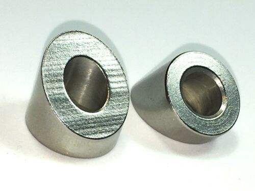 316 Stainless Steel 32 Degree Angled Beveled Washer For 5//16 Qty 26