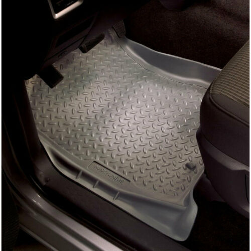 Husky Classic Front Floor Mats Grey for Blazer//Hombre//Jimmy//S10//Sonoma 1994-2003