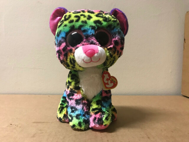 Ty Beanie Boos Buddy - Dotty The Leopard 24cm for sale online  7cf703fd4578