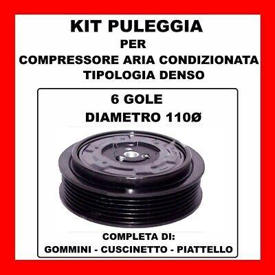 KIT PULEGGIA COMPRESSORE AC 13341 MERCEDES CLASSE C-CLK-E-S-ML-VIANO-VITO DAL 97