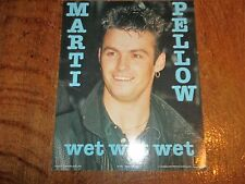 1 LARGE MARTI PELLOW  POP CARD-APPROX 20 X 25 CM-AS NEW