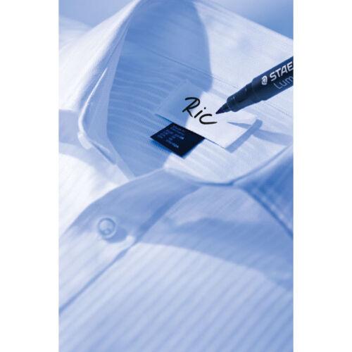 2 x Staedtler Laundry Marker Pen Textile Fabric Marker Permanent marker Black
