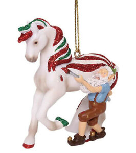 """TRAIL OF PAINTED PONIES Santa/'s Workshop Ornament ~ 2.4/""""Tall ~ Christmas 2018 ~"""