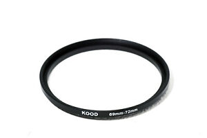 Stepping Ring 69-72mm 69mm to 72mm Step Up Ring Stepping Rings 69mm-72mm