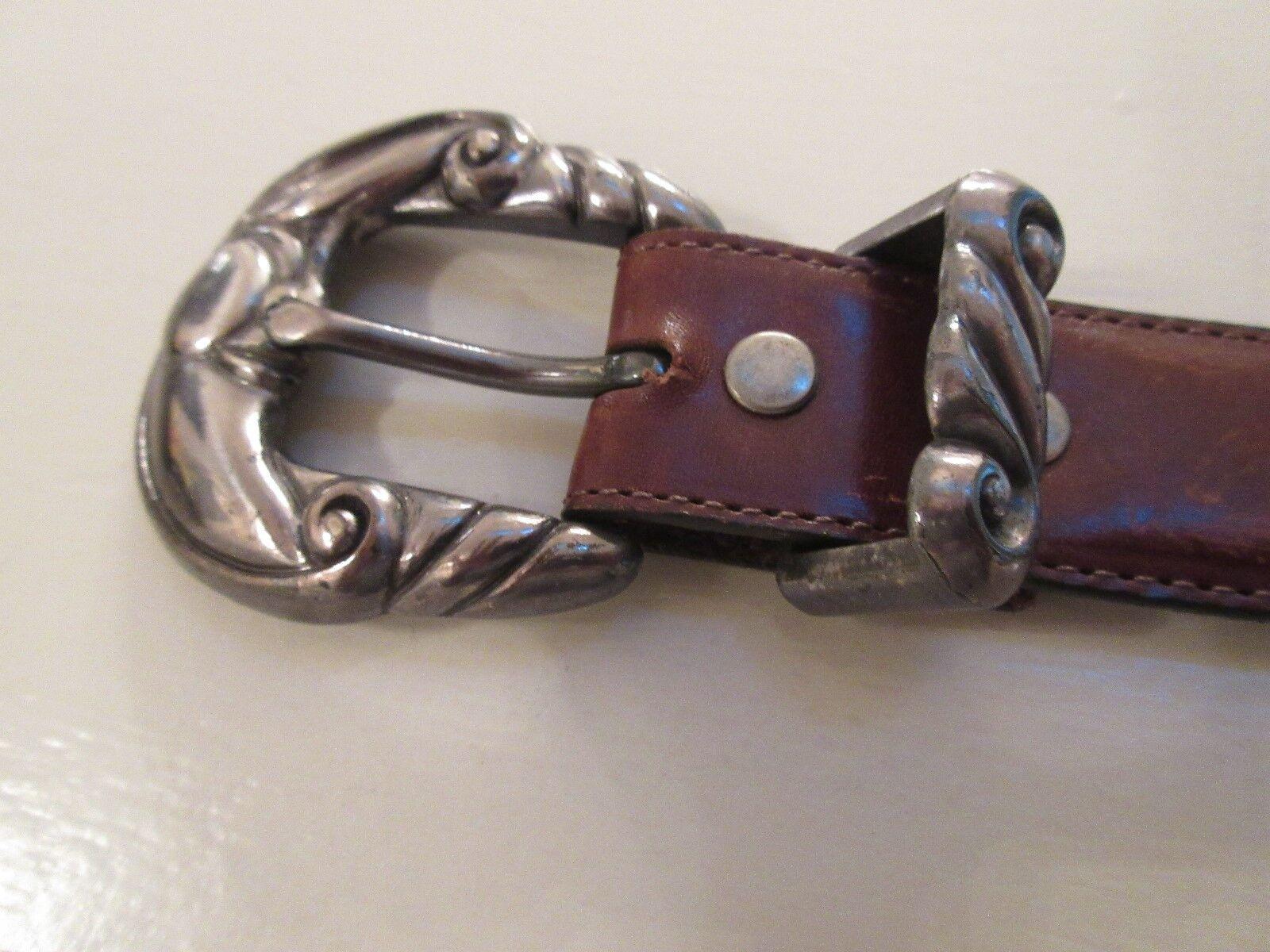 Brighton Onyx Belt , Size 30 ,#17809 , Unisex , Brown
