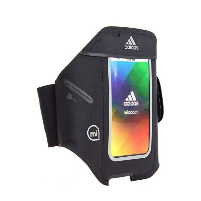 Nuevo significado Abigarrado Luna  Official Griffin Adidas Micoach Sports Armband For IPhone 5/5s/5c In Black  for sale online
