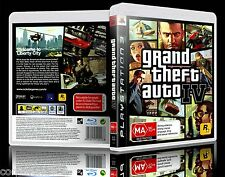 (PS3) Grand Theft Auto IV / GTA 4 (MA) w/ Map, Guaranteed, Tested, Australian