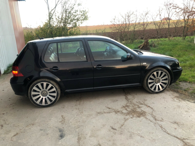 VW Golf IV, 2,8 V6 4M, Benzin, 1999, km 286000, sortmetal,…
