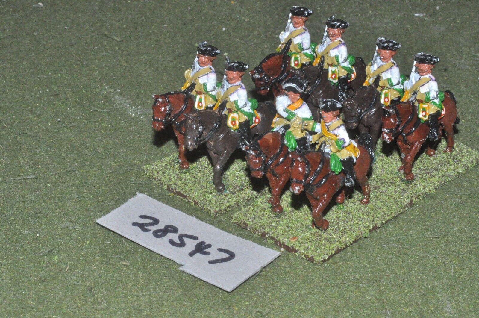 25mm 7YW   austrian - regt. 8 figures - cav (28547)