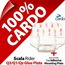 New Cardo Scala Rider Replacement Large Glue Plate for Q3 Q1 QZ Helmet Intercom
