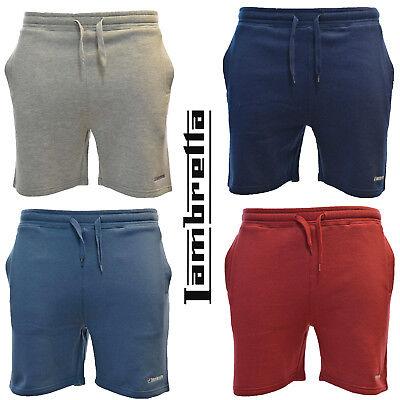 Lambretta Shorts Cotton Gym Lounge Casual Lightweight Fleece Trunk Mens Uk M-4xl 100% Hochwertige Materialien