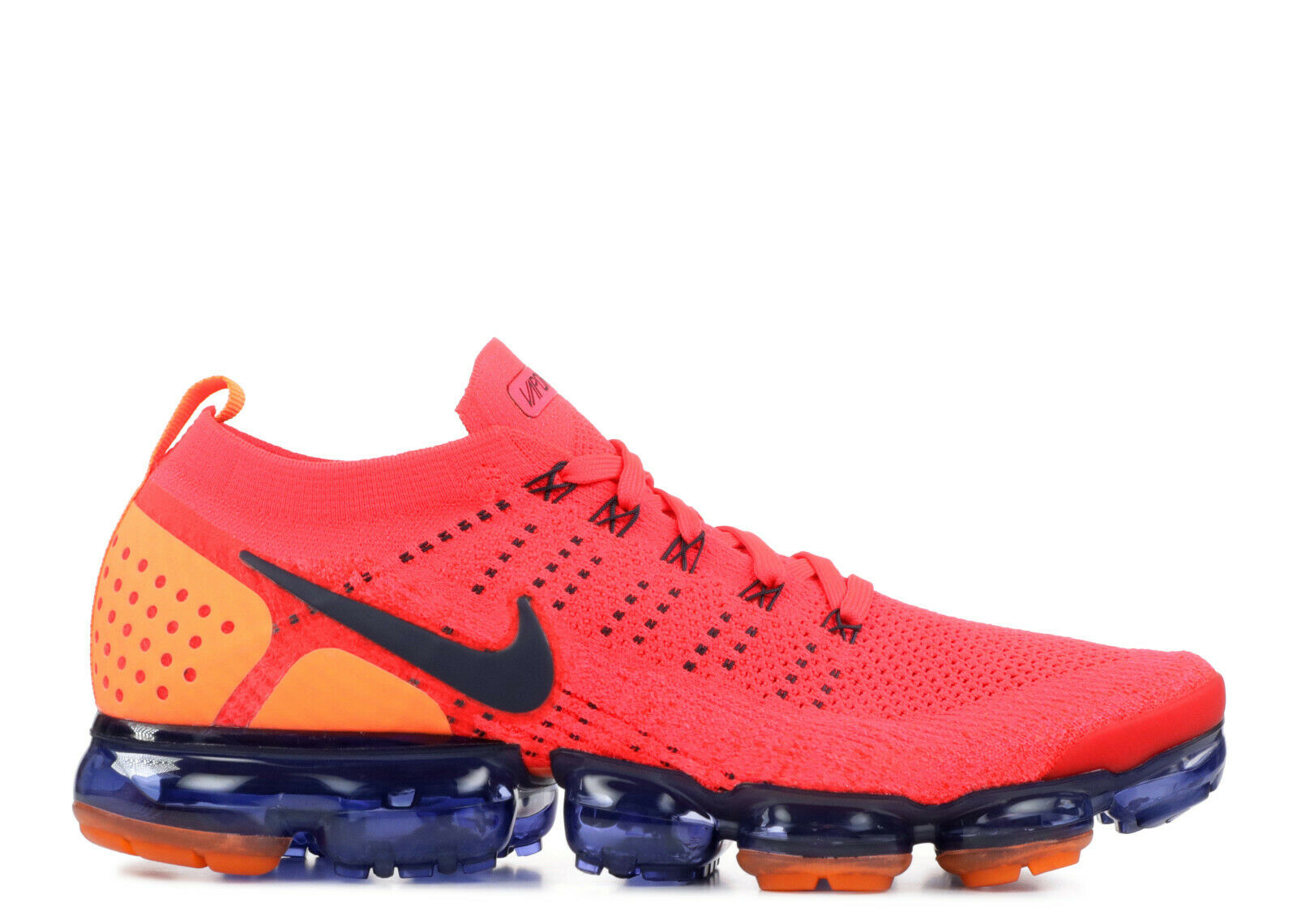 Nike Air Vapormax Flyknit 2.0 Running shoes Red Orbit Obsidian SZ 11.5 US
