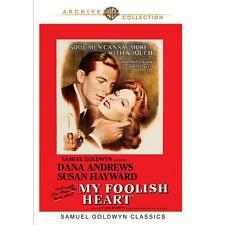 MY FOOLISH HEART DVD Dana Andrews, Susan Hayward, Kent Smith