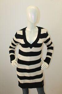 Maglione-RALPH-LAUREN-Sweater-Pullover-Pull-Lungo-Lana-Woman-Taglia-Size-S