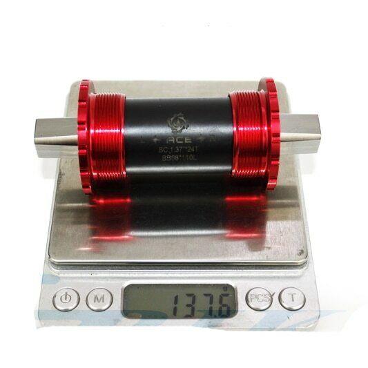 STAFFA INFERIORE IN TITANIO per BROMPTON leggero 145 gramm Rosso