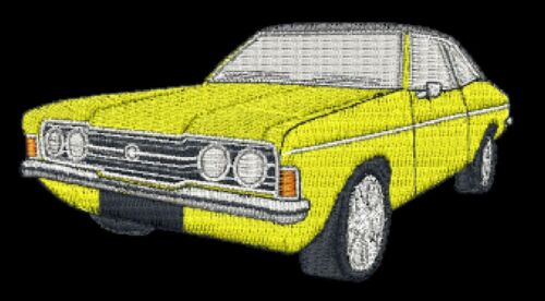 Ford Cortina Mk3 Embroidered /& Personalised T Shirt