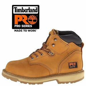 59f21aec064 Details about Timberland PRO Wheat Nubuck Men's Pit Boss 6