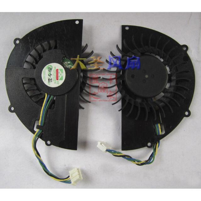NV MGT6012YR-W15 Graphics card cooling fan DC12V 0.37A 4Pin #M3091 QL