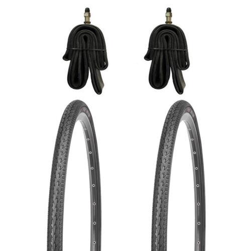 Schläuche mit Autoventil oder Dunlopventil 2x 24 Zoll Reifen 24x1.75 KUJO inkl