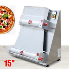3 15 Automatic Electric Pizza Dough Roller Sheeter Pastry Press Machine 370w Us