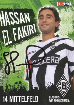 AK 2743 Hassan EL Fakiri Borussia M´gladbach
