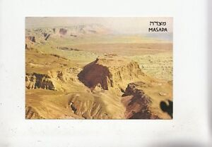 BF28336 masada general view with the dead sea israel   front/back image