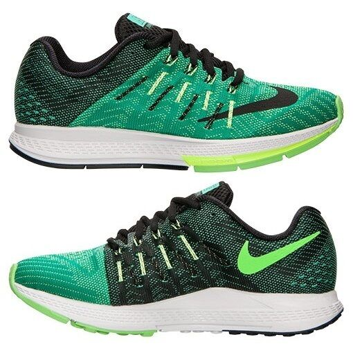 Nike Air Zoom Elite 8 Femmes Maille M de Course Menta - Vert - Noir - Voltage