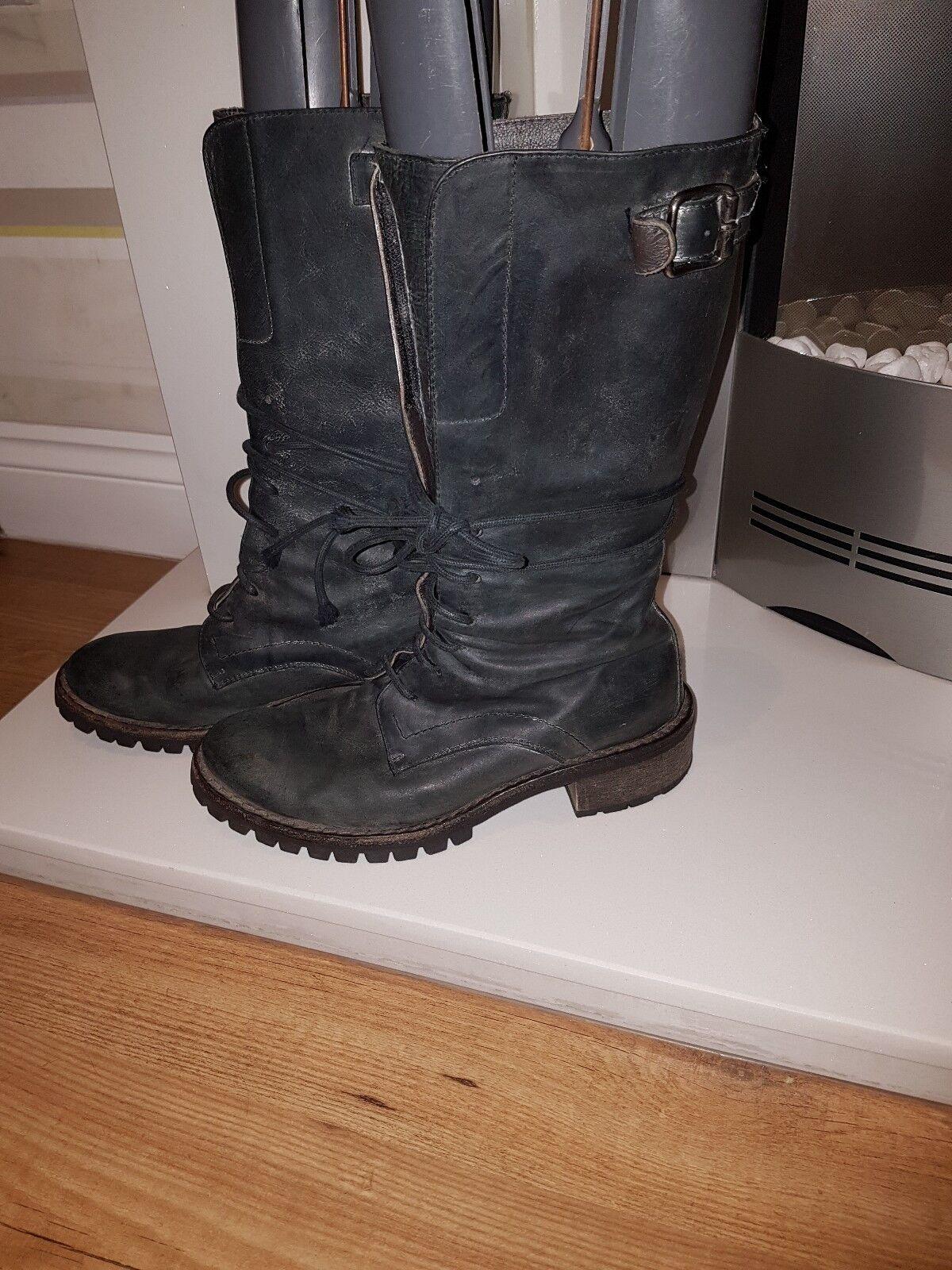 Lama Peach Cayman Bovver Bovver Bovver Stiefel  Größe 38 Uk5 1d0f1a