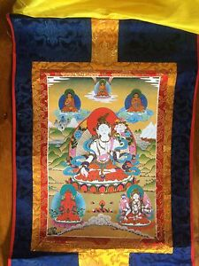 Tibetan-Buddhists-Thanka-60x36cm-White-Tara