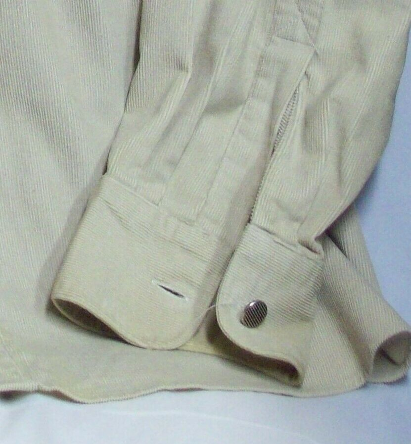 Vintage Mens Western Cotton Corduroy Overshirt XL… - image 10