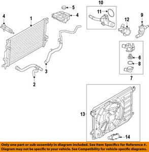 ford oem engine water pump ds7z8501c ebay chevy cruze engine diagram water pump image is loading ford oem engine water pump ds7z8501c