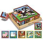 Melissa & Doug Farm Cube Puzzle - 16pc