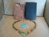 Jay King Mine Finds Saddle Mountain Turquoise & Copper Reversible Necklace Dtr
