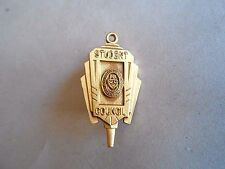 Vintage John Harris High School Harrisburg PA Student Council Member GF Key Pin