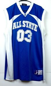 All-State-03-Basketball-Jersey-XL-Delf-USA-Slam-Dunk-Sportswear-Royal-Blue