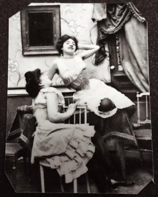 Ladies Of The House Of Ill Repute 12  tintype C1498RP