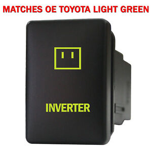 CH4X4 Small Push Switch for Toyota Power Symbol 3 Blue LED