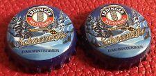 Crown Cap KK Erdinger Weißbräu Schneeweiße Bayern 2x Kronkorken Bottle Cap