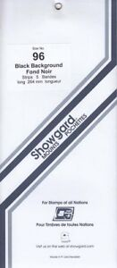 Showgard-Stamp-Mount-Strips-For-Souvenir-Sheets-Panes-96mm-Black-1-Pack-Free-US
