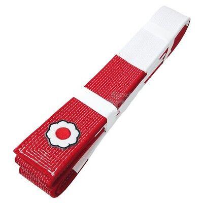 KUSAKURA  JAPAN Judo gi Aka Obi Red White Belt Kodokan Patch Model
